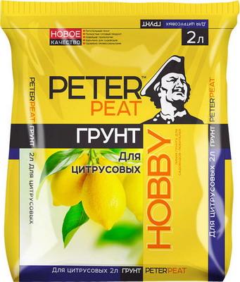 Грунт PETER PEAT HOBBY Цитрус 2л квас традиционный о 2л