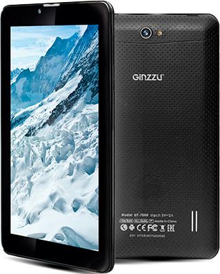 Планшет Ginzzu GT-7050 (черный) планшет ginzzu gt x770 black mtk8735m 1