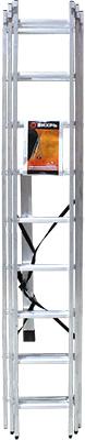 Лестница алюминиевая трёхсекционная Вихрь ЛА 3х973/5/1/16 лестница вихрь ла