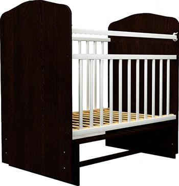 Детская кроватка Агат Золушка-10 Шоколад/слоновая кость