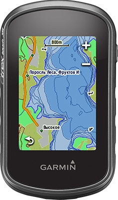 Навигатор Garmin Etrex Touch 35 GPS/Глонасс Russia (черно-серый) skylarpu df1624v1 fpc 1 lcds for garmin etrex touch 35t handheld gps lcd display screen with touch screen digitizer replacement