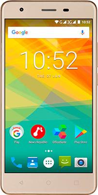 Мобильный телефон Prestigio Muze H3 Dual SIM Gold планшет prestigio muze 3708 3g pmt3708