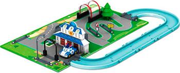 Игровой набор Robocar Poli «Город» Штабквартира ( металлическая машинка Поли в комплекте) кейс для трансформера robocar poli поли