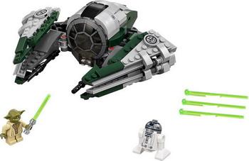 Конструктор Lego STAR WARS Звёздный истребитель Йоды 75168 lego star wars конструктор истребитель по