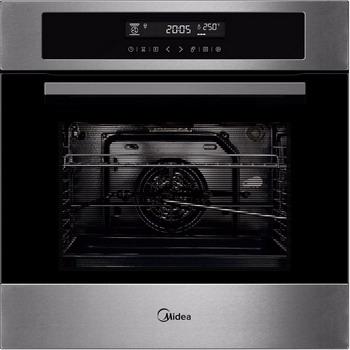 Встраиваемый электрический духовой шкаф Midea MO 982 A4 SC X дальномер meet ms 982