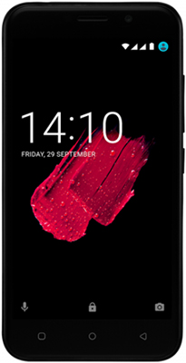 Мобильный телефон Prestigio Grace M5 LTE Dual SIM Black смартфон prestigio grace z5 серебристый 5 3