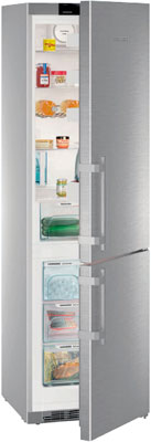 Двухкамерный холодильник Liebherr CNef 4825 холодильник beko rcnk365e20zx двухкамерный нержавеющая сталь