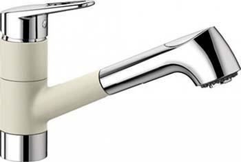 Кухонный смеситель BLANCO NOTIS-S SILGRANIT жасмин смеситель для кухни blanco fontas silgranit жасмин 518507