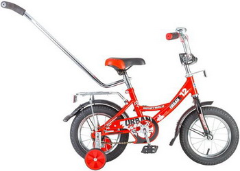 Велосипед Novatrack 12 URBAN красный 124 URBAN.RD6 велосипед детский novatrack urban цвет красный 12