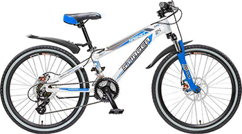 Велосипед Stinger 24'' Magnet 12 5''  белый 24 AHD.MAGNET.12 WT5 велосипед stinger magnet kid 20 2016