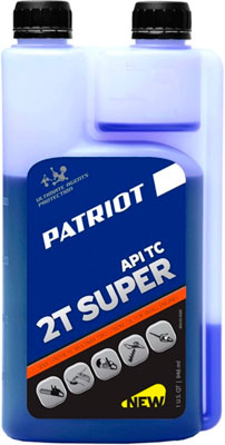 Масло Patriot SUPER ACTIVE 2T дозаторная 0 946л 850030569 футболка wearcraft premium printio house of pain