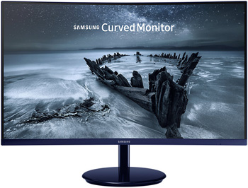 ЖК монитор Samsung C 27 H 580 FDI (LC 27 H 580 FDIXCI) gl.Black