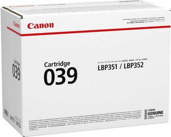 Картридж Canon 039 0287 C 001 картридж для принтера и мфу canon c exv21y yellow