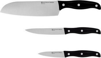 Набор ножей Swiss Diamond SAMURAI SNLKSET 03 набор посуды 4 предмета swiss diamond sdpssetl4