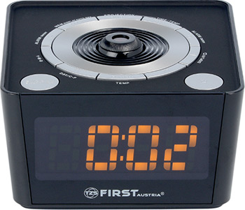 Радиочасы First FA-2421-5 Black