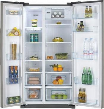 Холодильник Side by Side Daewoo FRNX 22 B5CSI холодильник side by side samsung rs552nrua9m
