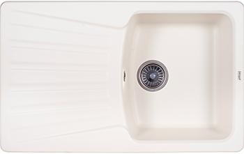 Кухонная мойка Weissgauff CLASSIC 800 Eco Granit белый  weissgauff classic 695 eco granit чёрный