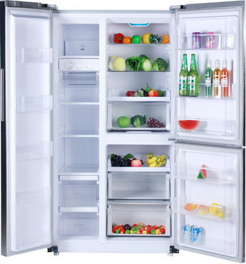 Фото Многокамерный холодильник Ginzzu. Купить с доставкой
