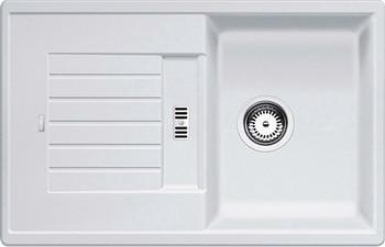 Кухонная мойка BLANCO ZIA 45 S SILGRANIT белый  blanco zia 5s белый