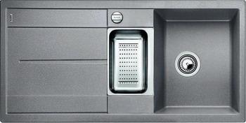 Кухонная мойка BLANCO METRA 6S SILGRANIT алюметаллик кухонная мойка ukinox stm 800 600 20 6