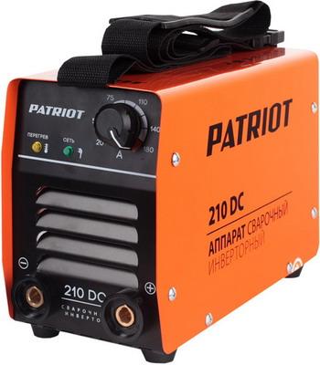 Сварочный аппарат Patriot 210 DC MMA сварочный аппарат patriot smart 180 mma