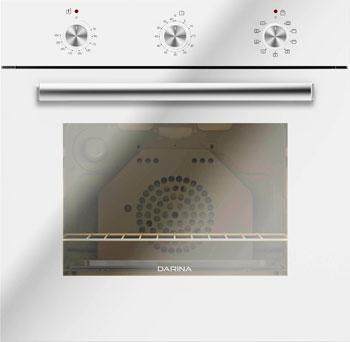 Встраиваемый электрический духовой шкаф Darina 1U BDE 111 707 W встраиваемый электрический духовой шкаф smeg sf 4120 mcn
