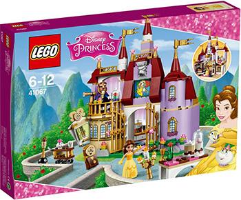 Конструктор Lego DISNEY PRINCESS Заколдованный замок белль 41067 bork water а704