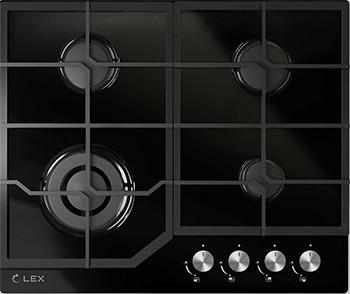 Встраиваемая газовая варочная панель Lex GVG 640-1 BL