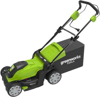 Колесная газонокосилка Greenworks GLM 1241 газонокосилка huter glm 5 0 s