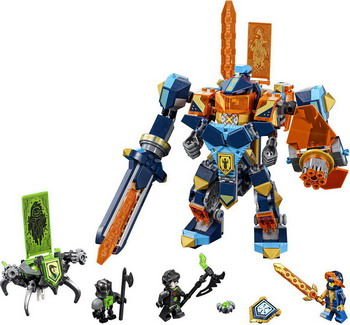 Конструктор Lego Nexo Knights: Решающая битва роботов 72004 lepin 14022 nexo knights axl axls tower carrier 704pcs building block educational toys for children compatible legoe