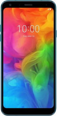 Мобильный телефон LG Q7+ синий gps модуль для kapkam q7 ql3 mini