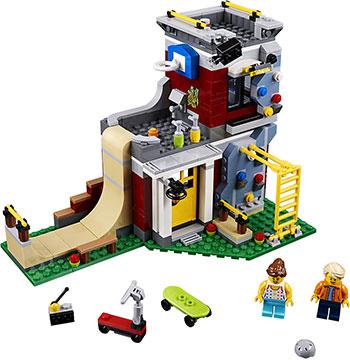 Конструктор Lego Скейт-площадка (модульная сборка) Creator 31081 конструктор lego creator 31071 дрон разведчик