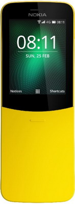 Мобильный телефон Nokia 8110 4G Dual Sim желтый new 10 1 inch mtk6592 octa core 4g 64g android 6 0 dual sim camera phone pad wifi phablet tablet pc 18mar01 drop ship f