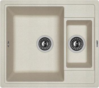 Кухонная мойка Florentina Липси-580 К 580х510 грей FSm мойка florentina нире 480 грей