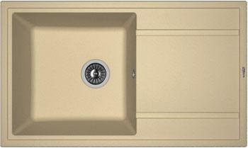 Кухонная мойка Florentina Липси-860 860х510 капучино FG искусственный камень