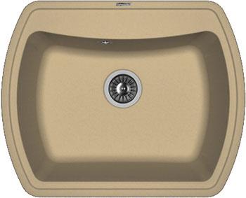 Кухонная мойка Florentina Нире-630 630х510 капучино FG искусственный камень