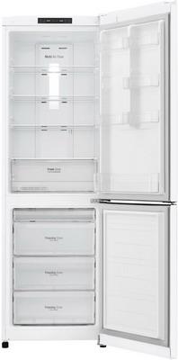 Двухкамерный холодильник LG GA-B 419 SQJL белый холодильник lg ga b429smcz silver