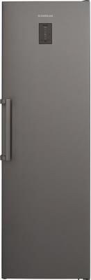 Однокамерный холодильник Scandilux R 711 EZ X Inox двухкамерный холодильник scandilux cnf 379 ez x inox