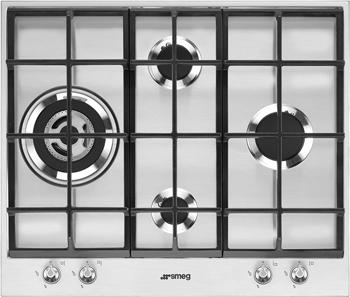 Встраиваемая газовая варочная панель Smeg PX 164 L meileiya италия l номер