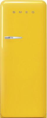 Однокамерный холодильник Smeg FAB 28 RYW3 однокамерный холодильник smeg fab 28 rve1