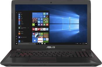 Ноутбук ASUS FX 553 VE-FY 527 T (90 NB0DX7-M 08180) черный ноутбук asus fx 553 vd dm 1137 90 nb0dw4 m 19850