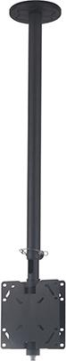 Кронштейн для телевизоров Kromax COBRA-3 grey кронштейн kromax star 1 фиксированный кронштейн для жк и плазмы 42 70 vesa 800x500 мм макс нагр 75 кг grey