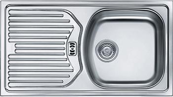 Кухонная мойка FRANKE ETL 614 3.5'' обор пер б/вып 101.0060.167 franke etl 610