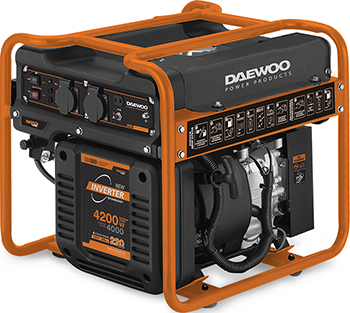 Электрический генератор и электростанция Daewoo Power Products GDA 5600 i генератор бензиновый daewoo gda 3500e