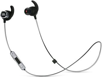 BT Наушники-гарнитура (вкладыши) JBL Reflect Mini2 черный JBLREFMINI2BLK akg k318 в наушники вкладыши стерео музыки гарнитура наушники черный apple телефонные звонки