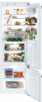 Фото Встраиваемый двухкамерный холодильник Liebherr. Купить с доставкой