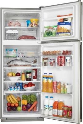 Двухкамерный холодильник Sharp SJ-58 C ST холодильник sharp sj b236zr wh белый