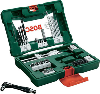 Набор бит и сверл Bosch V-Line Titanium из 41 шт. 2607017316 набор бит и сверл bosch v line из 68 шт 2607017191