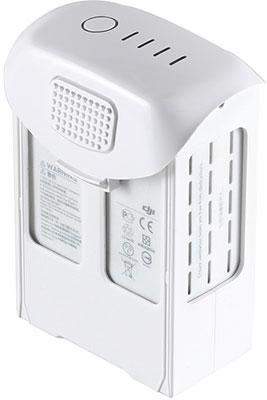 Аккумулятор DJI Li-pol 15.2V 5870 mAh  4s1p для Phantom 4/ 4 PRO  белый силиконовый чехол для пульта dji phantom 3 adv pro phantom 4 inspire 1 gogear