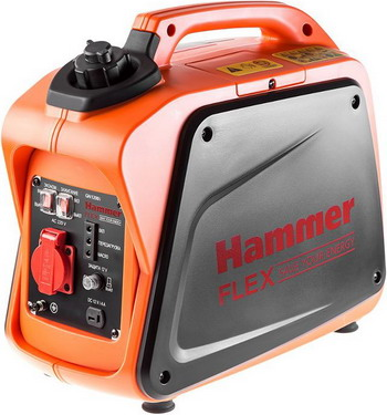Электрический генератор и электростанция Hammer GN 1200 i цена и фото